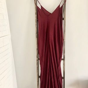 Nordstrom Maroon Maxi Dress